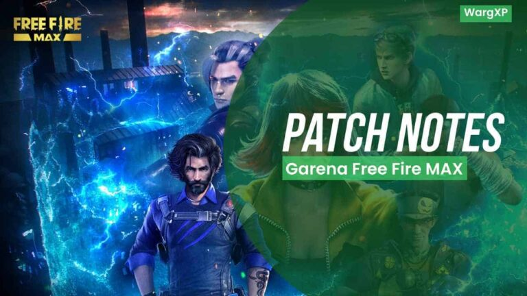 Garena Free Fire MAX 1.65 Patch Notes (FF MAX 1.65 Patch Notes Update)